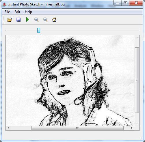 Instant Photo Sketch – foto joonistuseks