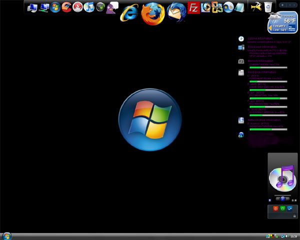 RocketDock – aplikatsioonide käivitaja