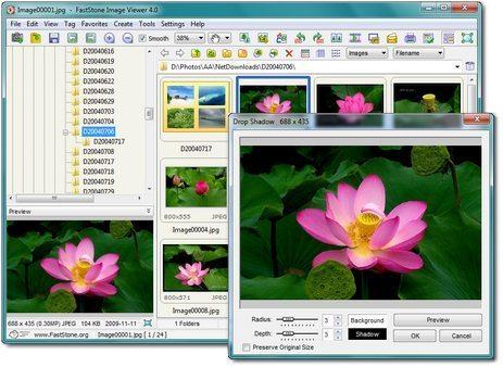 FastStone Image Viewer – pilditöötlus