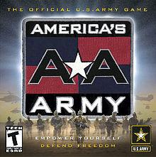Americas Army – populaarne online sõjamäng
