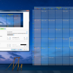 Interactive Calendar on desktop