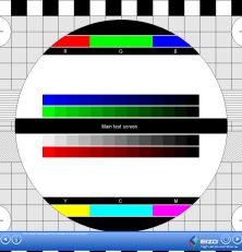 EIZO Monitortest