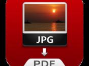 JPEG to PDF konverter